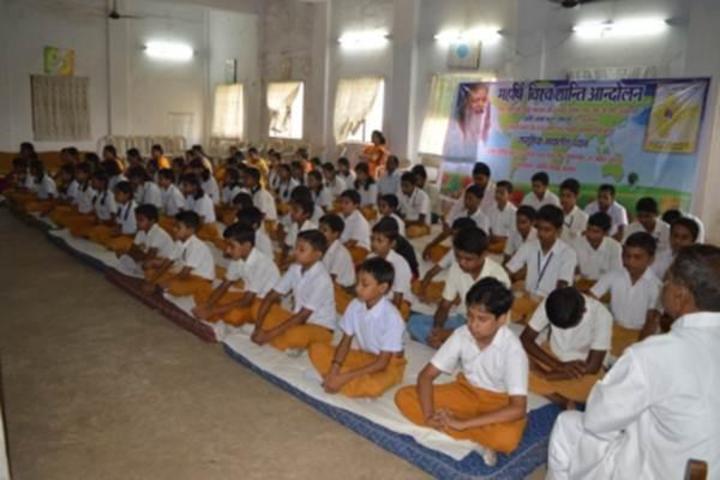 Maharishi Vidya Mandir-Yoga Activity