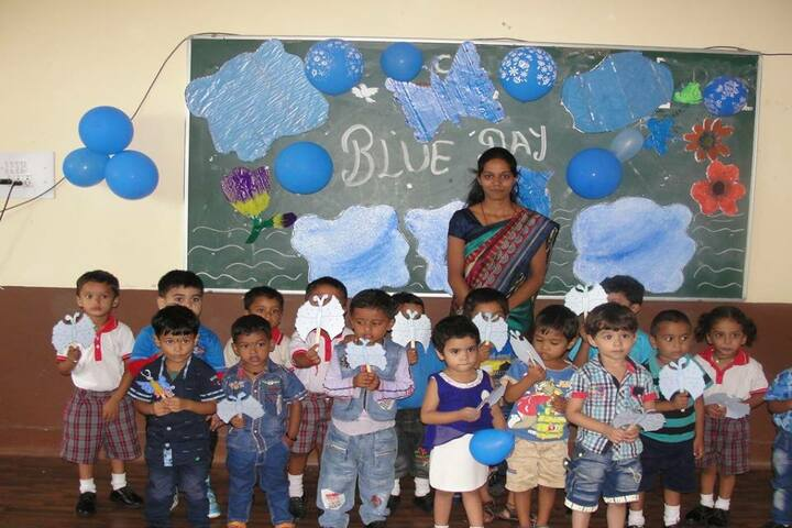 Mansarowar Vidyalaya-blue day