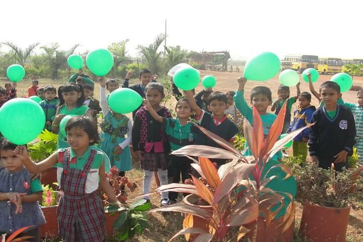 Mansarowar Vidyalaya-green day