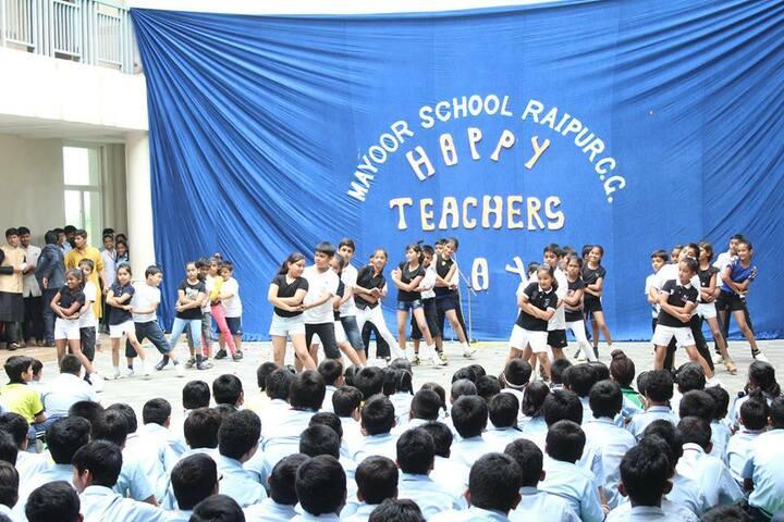 Mayoor School-teachers day