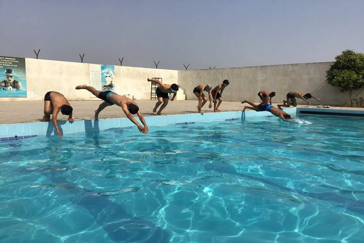 M M School-Swimming Pool
