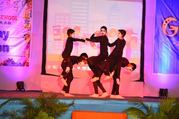 Monnet DAV Public School-Dance