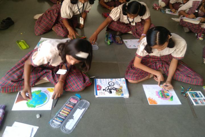 Monnet DAV Public School-Painting
