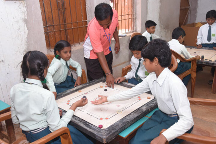Nalanda English Medium Higher Secondary School-Carrom board