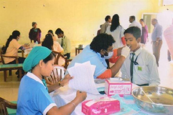 2Nalanda English Medium Higher Secondary School-Health Checkup