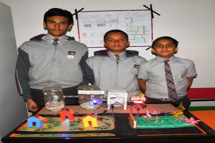 NEERAJ BAJPAYEE INTERNATIONAL SCHOOL-exhibition