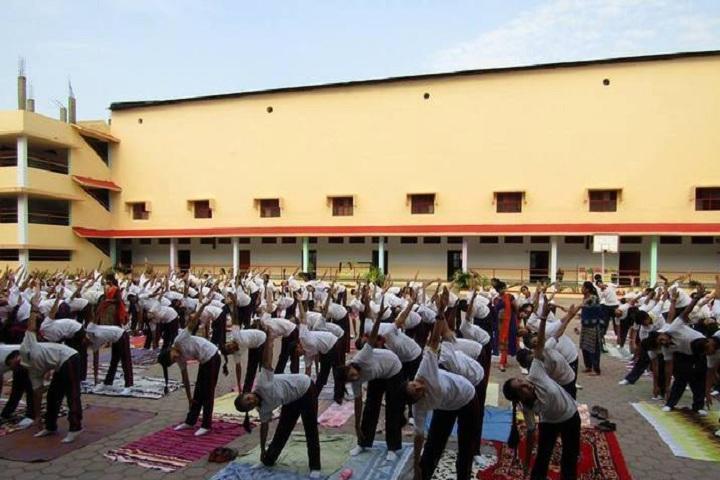 New Era Progessive School-yoga