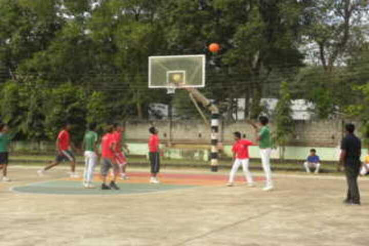 Nirmal higher secondary school-Basketball
