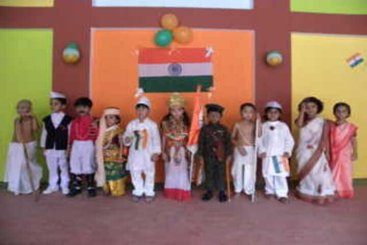 Nirmal higher secondary school-National day