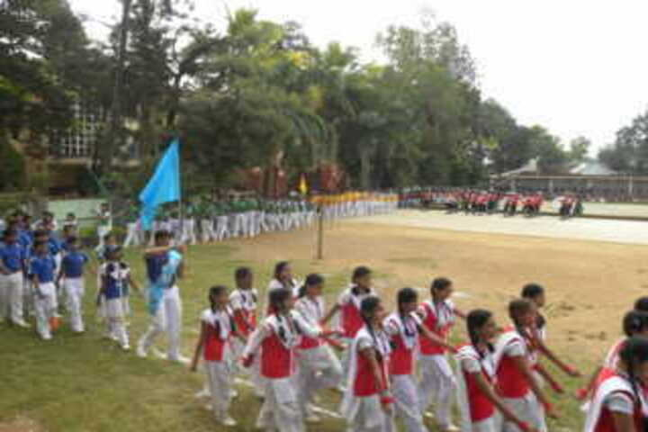 Nirmal higher secondary school-Sports day