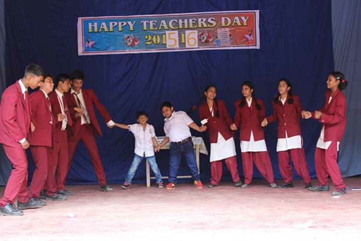 Nirmal higher secondary school-Teachers day