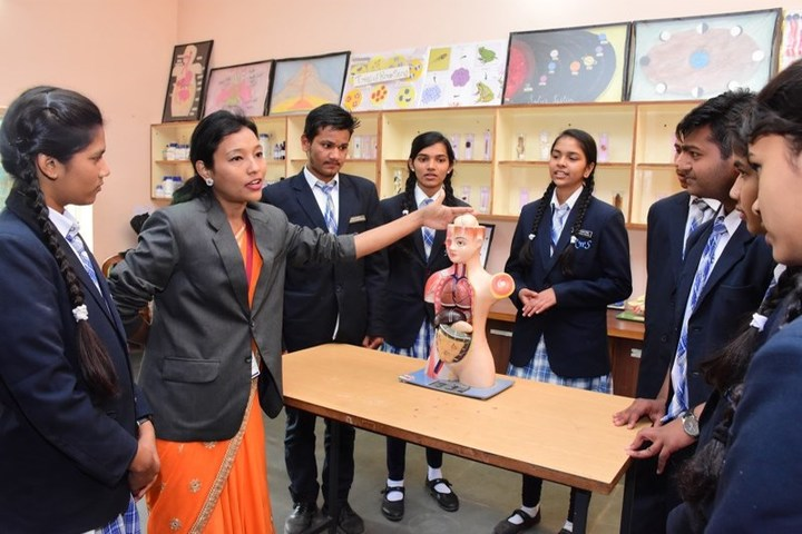 Rise And Shine Convent School-Biology Lab