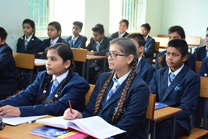 Rise And Shine Convent School-Classroom