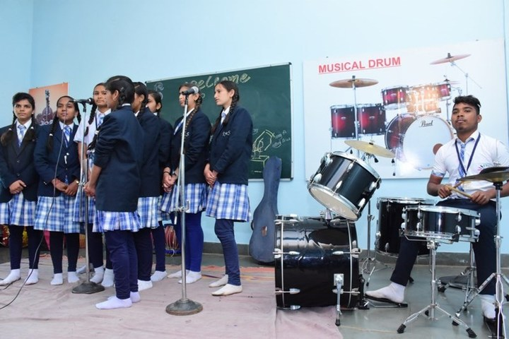 Rise And Shine Convent School-Music Area