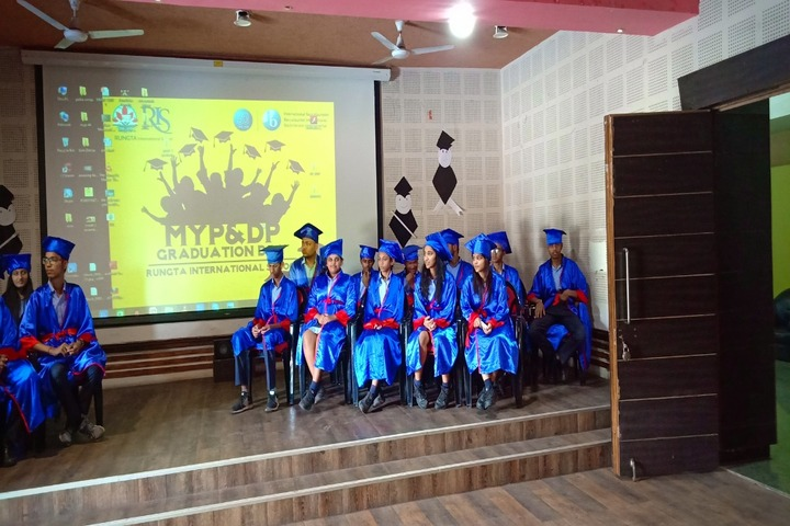 Rungta International School-Graduation Day Ceremony