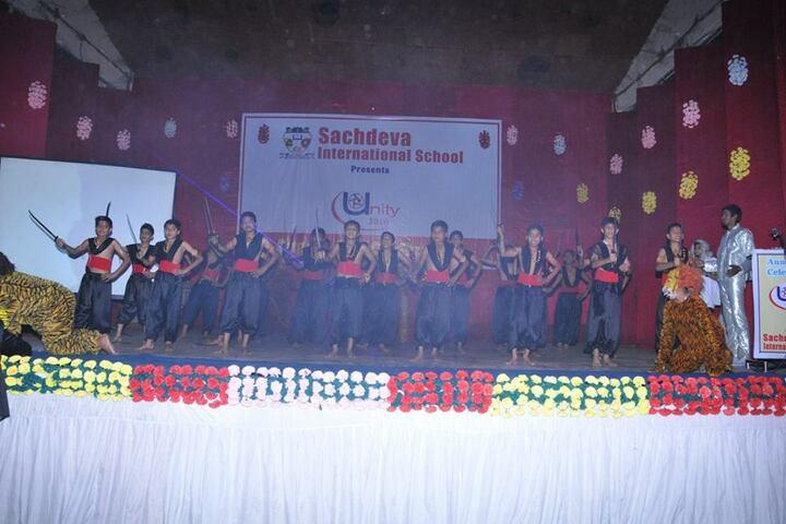 Sachdeva International School-Dancing Activity