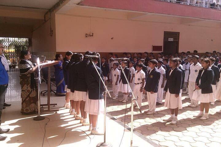 Sachdeva International School-Morning Assembly