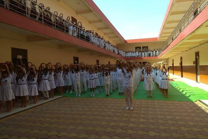 Sachdeva International School-Yoga Day