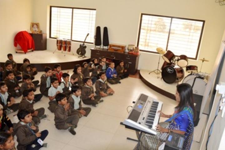 Sadhu Ram Vidya Mandir-Music Room