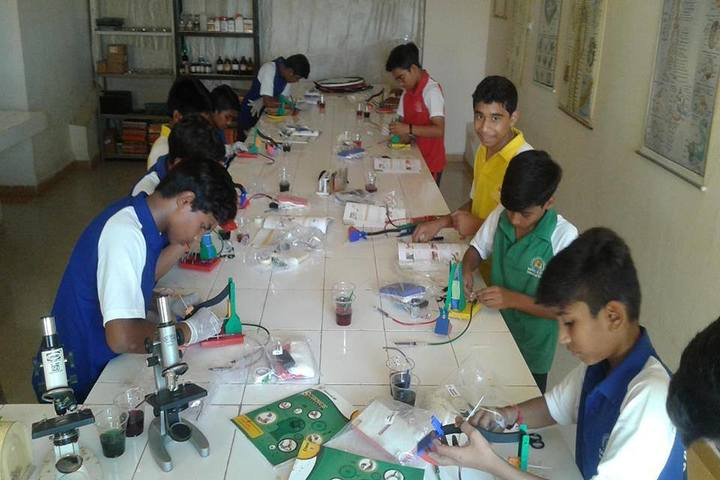 Sanskar City International School-Biology Lab
