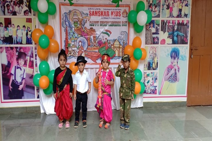 Sanskar City International School-Independence Day