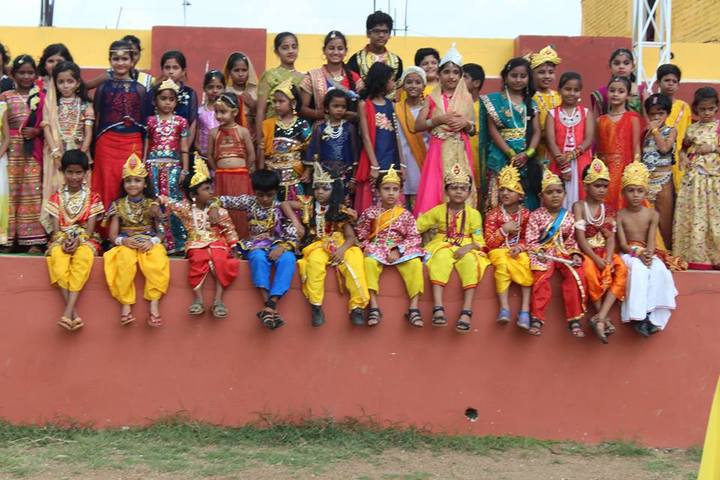 Sanskar City International School-Janmasthami Celebrations