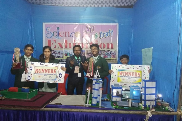 Sarvodaya Public School-Science exhibition