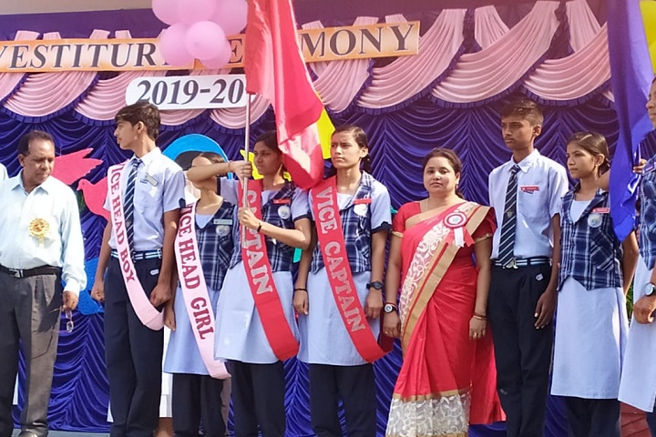 Shalini Convent School-Investiture ceremony