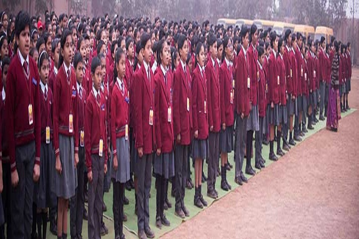 Sharda Vidyalaya-Assembly