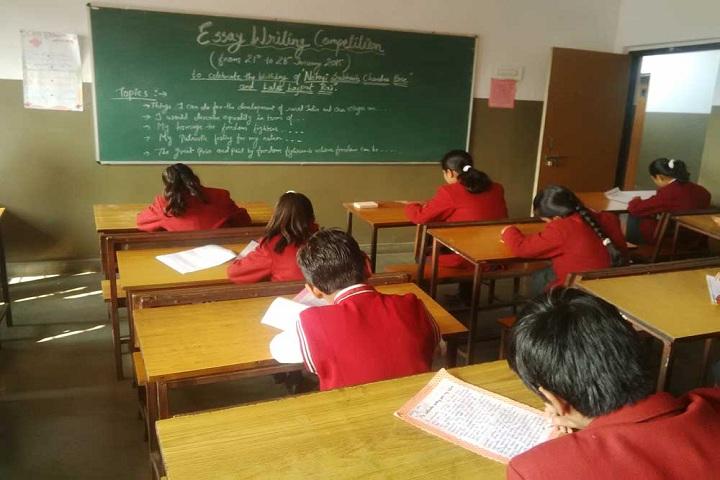 Sharda Vidyalaya-Classroom