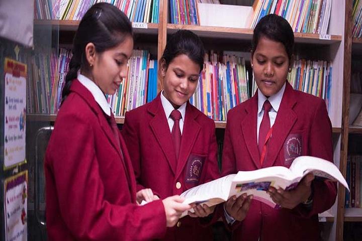 Sharda Vidyalaya-Library