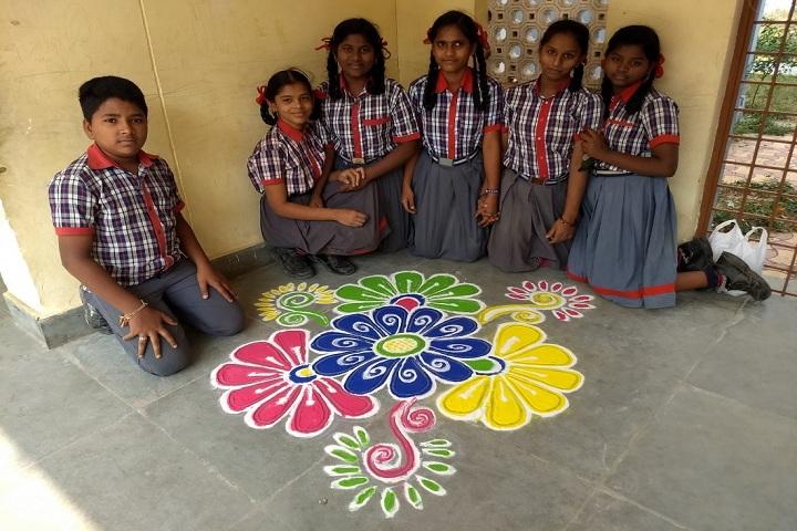 Kendriya Vidyalaya-Rangoli competitions