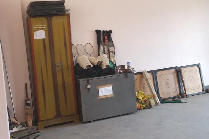 Kendriya Vidyalaya-Sports room
