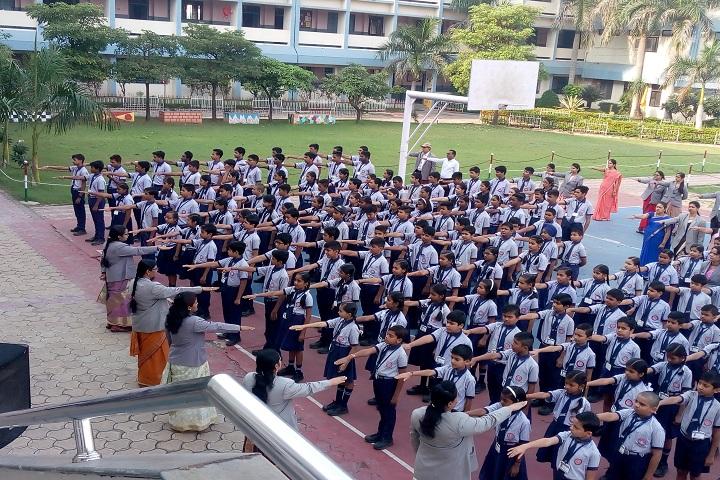 Shri Gujrati English Medium Higher Secondary School-Assembly