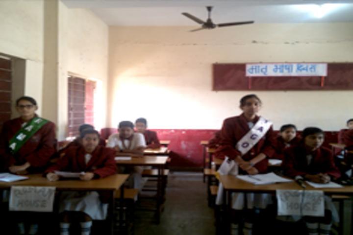 Shri Kailashpat Singhania Higher Secondary School-Classroom