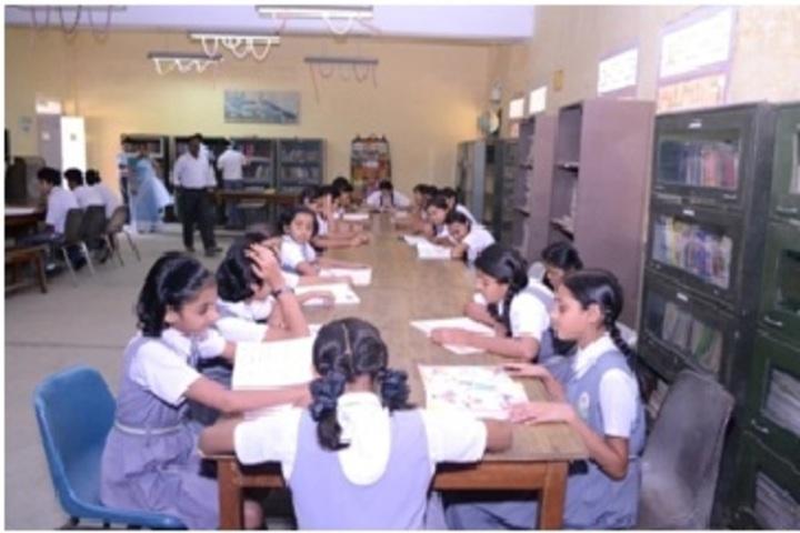 Shri Kailashpat Singhania Higher Secondary School-Library