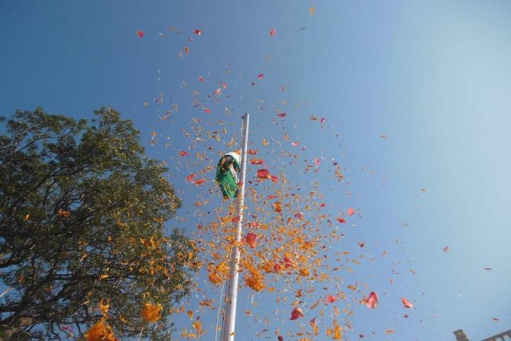 Sky International School-Republic day