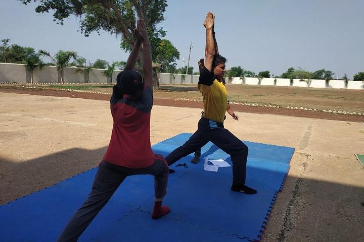 Sky International School-Yoga