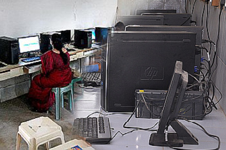 South East Central Railway Higher Secondary School No 2-Computer Lab