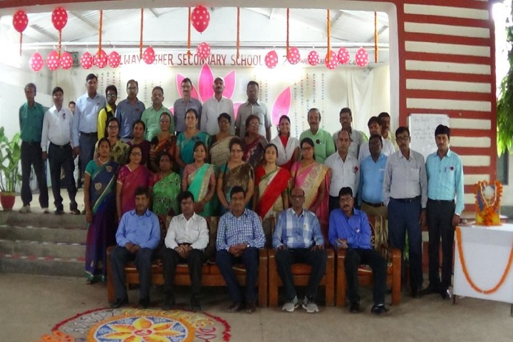 South East Central Railway Higher Secondary School No.-2-Group Photo