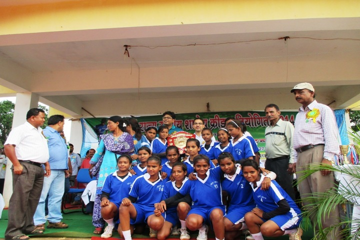 South East Central Railway Mixed Higher Secondary School-Sports