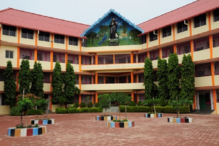 St Francis Higher Secondary School-Campus-View front