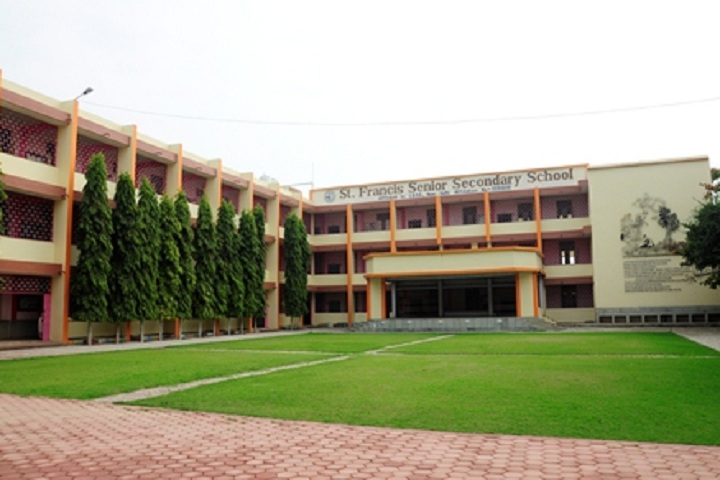 St Francis Higher Secondary School-Campus-View