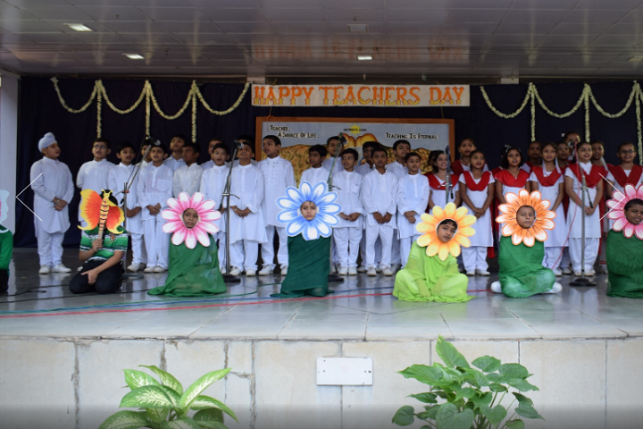 St Francis Higher Secondary School-Events teachers day