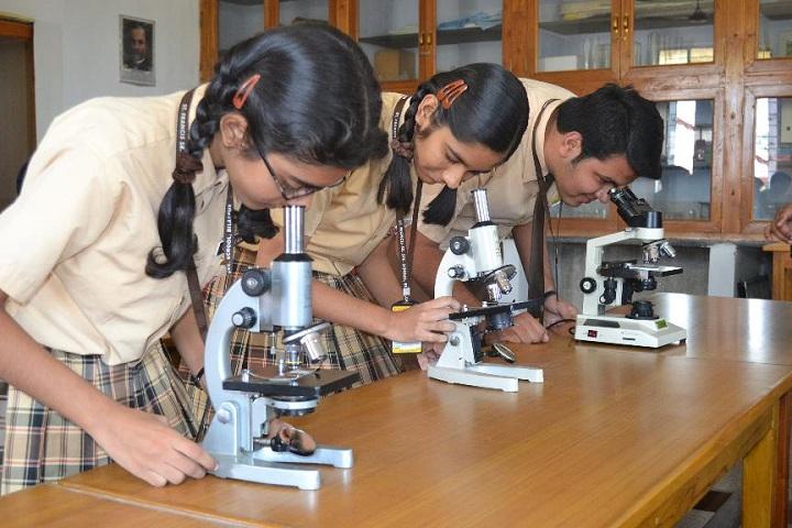 St Francis Higher Secondary School-Laboratory biology