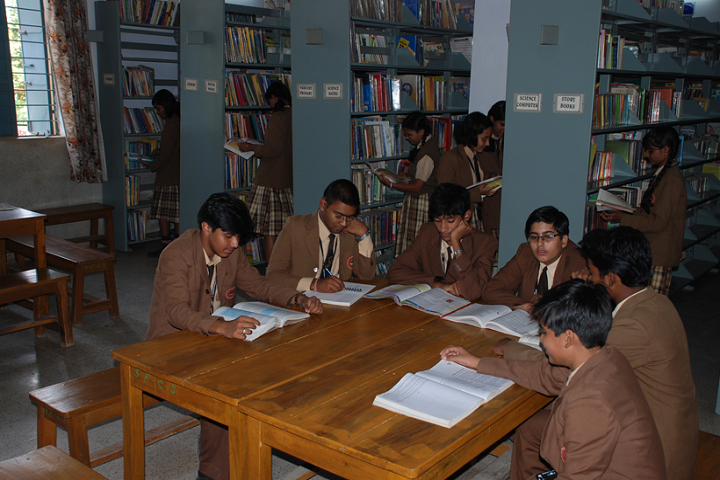 St Francis Higher Secondary School-Library