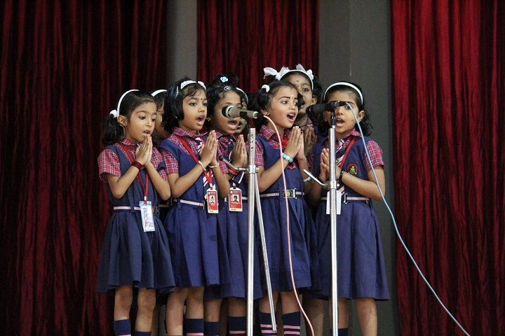 St JosephS English Medium School-Group Song