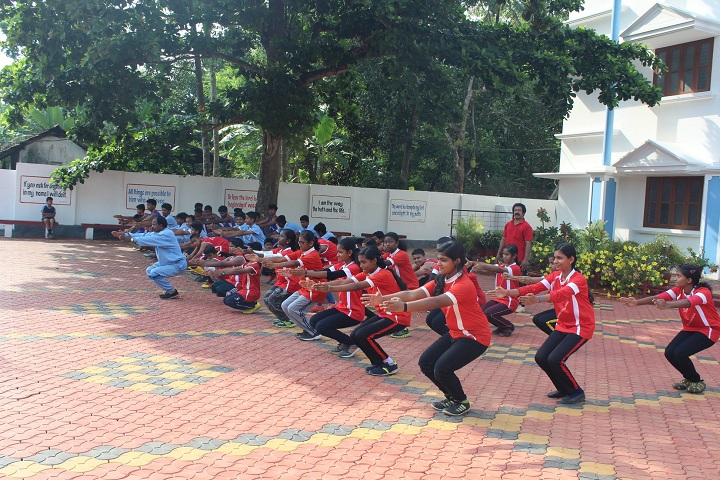 St JosephS English Medium School-Yoga
