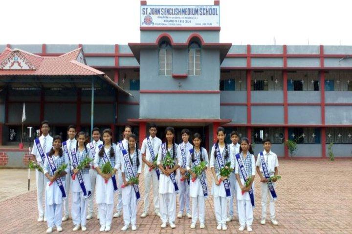 "St. JosephS Senior Secondary School-Environment Day"""