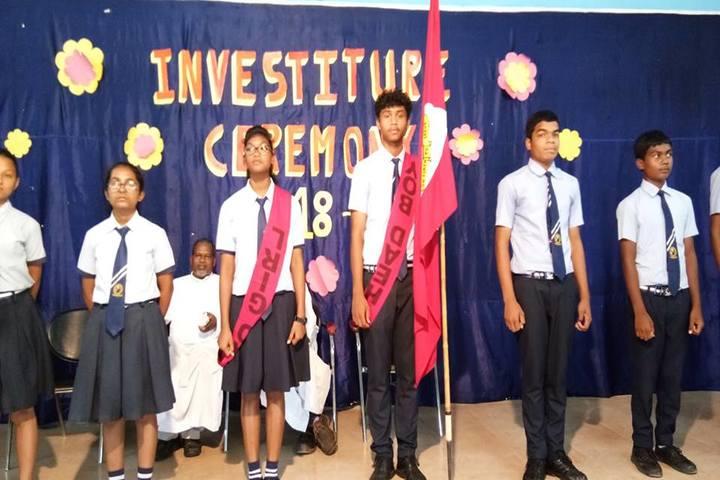 St. Vincent Pallotti International Residential School-Investiture Ceremony
